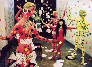 Polka Dot Love Room installatie - 1967